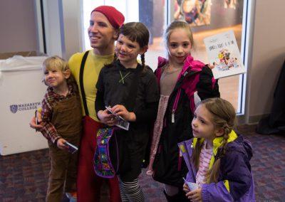 ben with kids